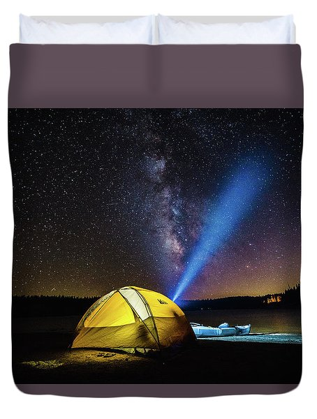 Under The Stars Duvet Cover