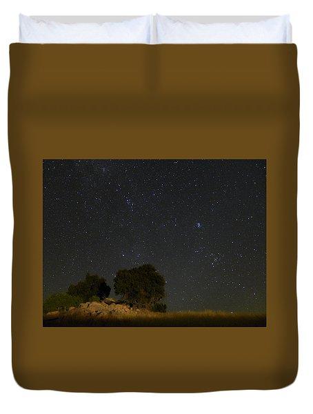 Under The Stars Duvet Cover