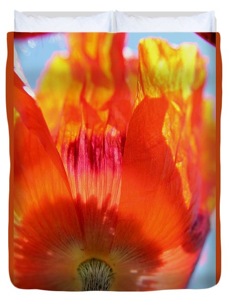 Under The Summer Sun Duvet Cover