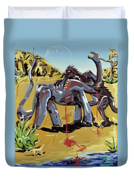 Under The Sun Duvet Cover by Ryan Demaree