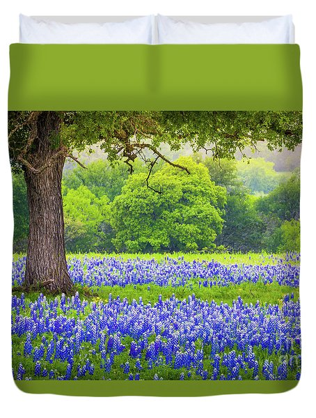 Under The Tree Duvet Cover