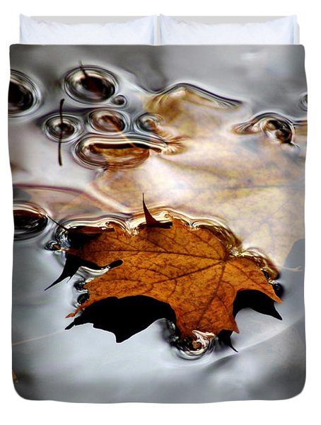 Under Water Fall Duvet Cover