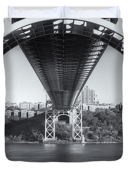 Underneath The George Washington Bridge IIi Duvet Cover