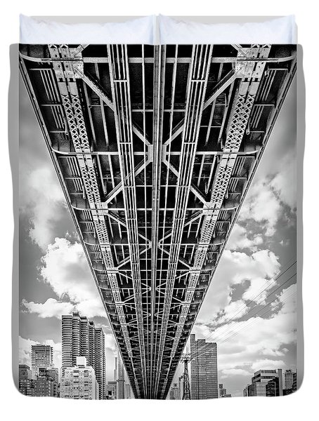 Underneath The Queensboro Bridge Duvet Cover