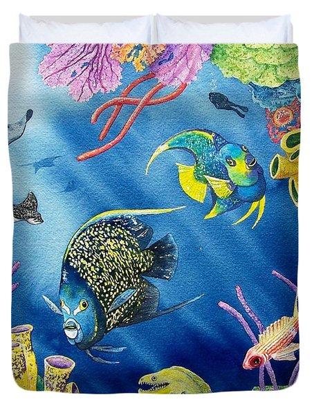 Undersea Garden Duvet Cover