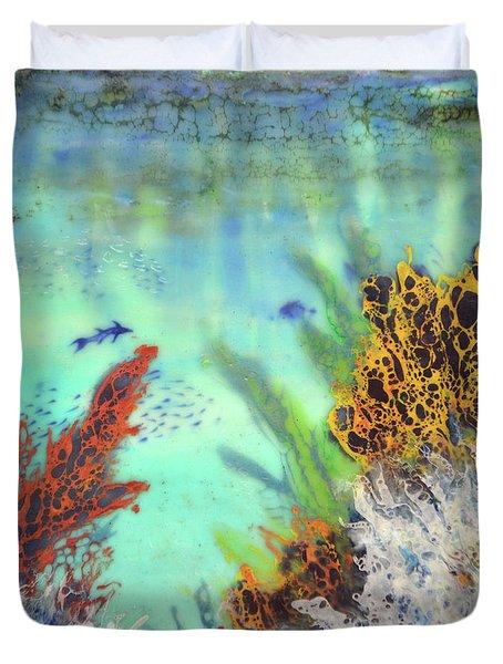 Underwater #2 Duvet Cover