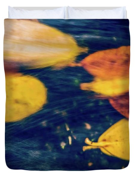 Underwater Colors Duvet Cover