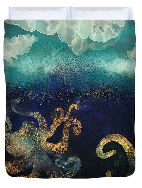 Underwater Dream II Duvet Cover