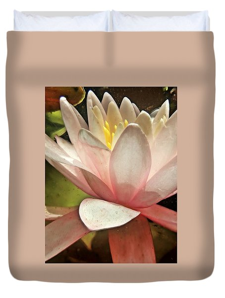 Underwater Lily 2 Duvet Cover