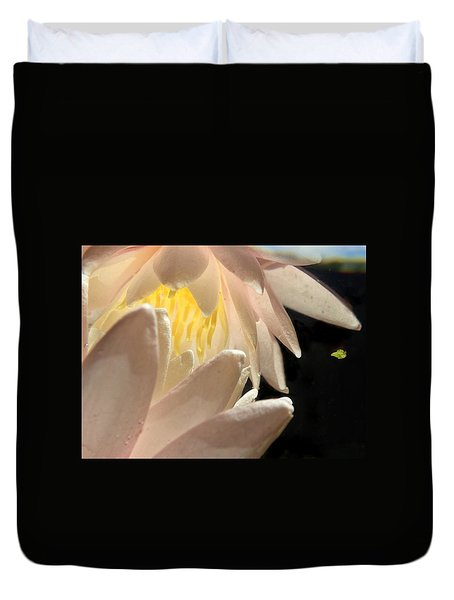 Underwater Lily 4 Duvet Cover