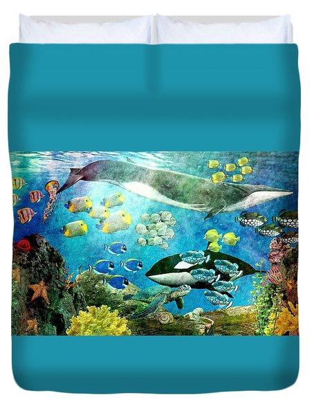 Underwater Magic Duvet Cover