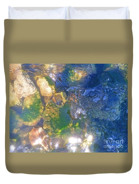 Underwater Magic Duvet Cover by Cindy Lee Longhini