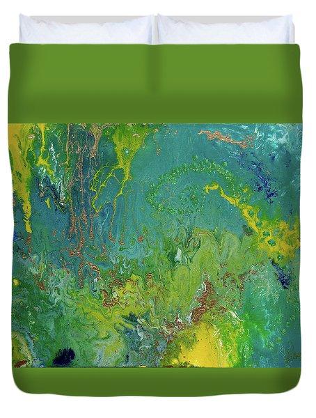 Underwater Paradise Duvet Cover by Vicki Pelham