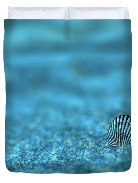 Underwater Seashell - Jersey Shore Duvet Cover