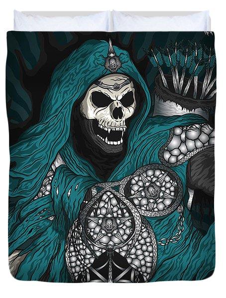 Underworld Archer Of Death Duvet Cover