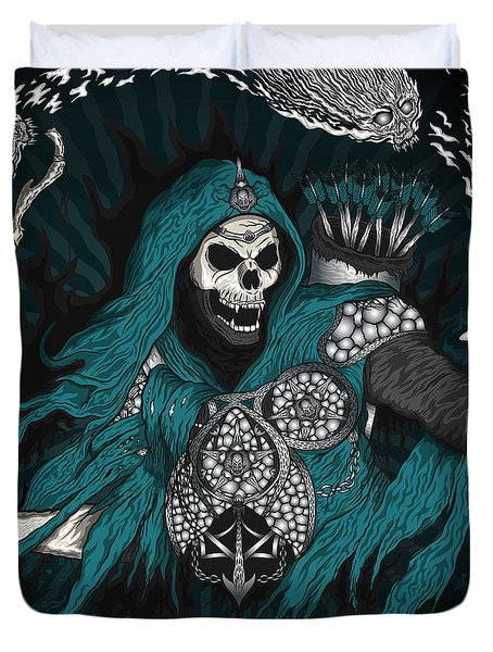 Underworld Archer Of Death Duvet Cover