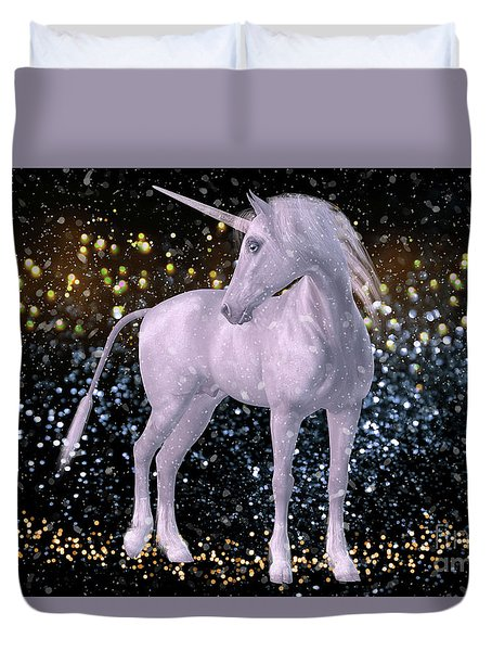Unicorn Dust Duvet Cover