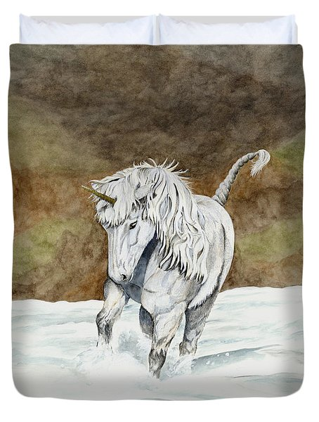 Unicorn Icelandic Duvet Cover