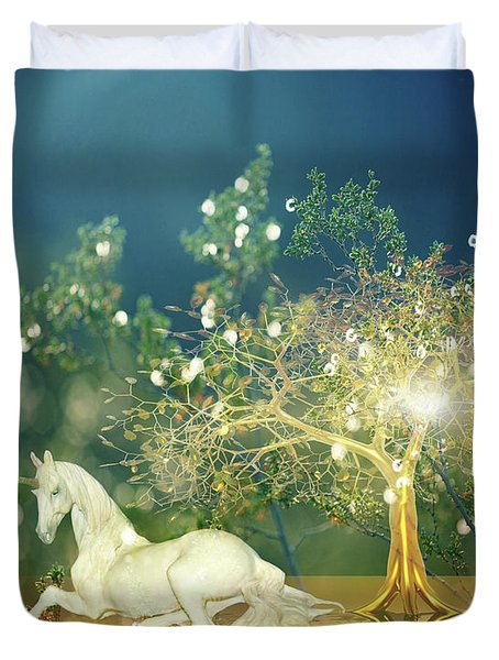 Unicorn Resting Series 2 Duvet Cover