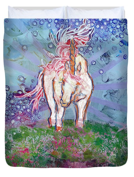 Unicorn Tears Duvet Cover