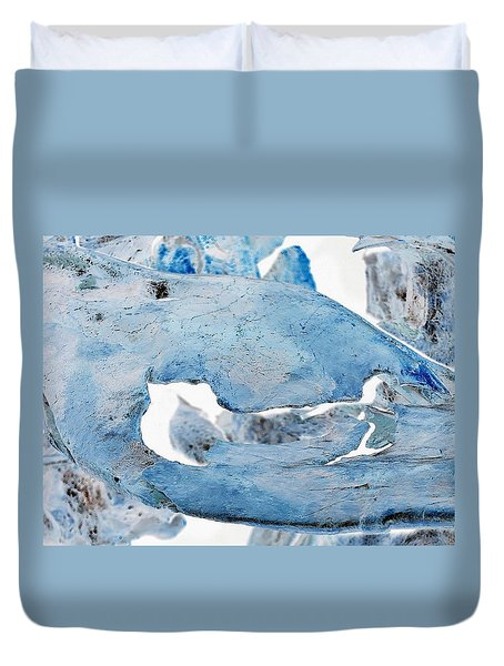 Unidentified Aquatic Object Duvet Cover