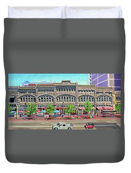 Union Block Building - Boise Duvet Cover