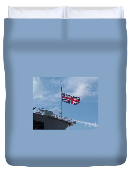 Union Jack Duvet Cover by Richard Brookes