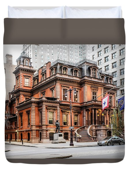 Union League Duvet Cover