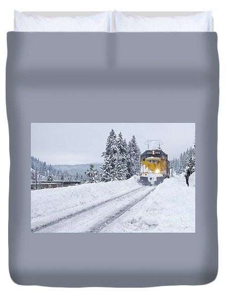 Union Pacific #602 Duvet Cover