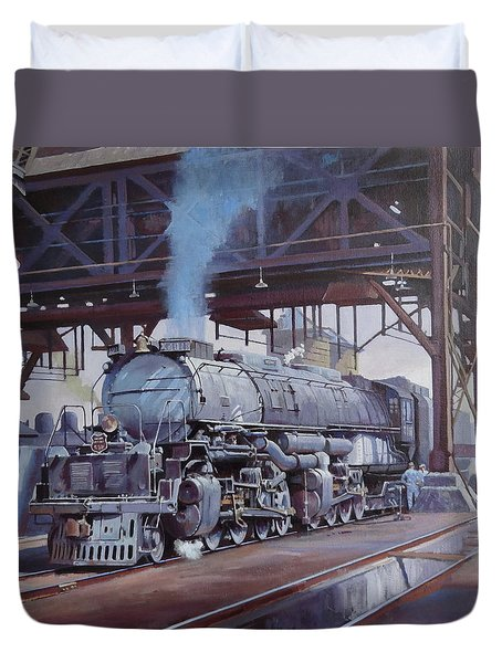 Union Pacific Big Boy Duvet Cover