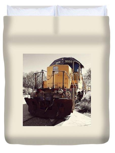 Union Pacific No. 9950 Duvet Cover