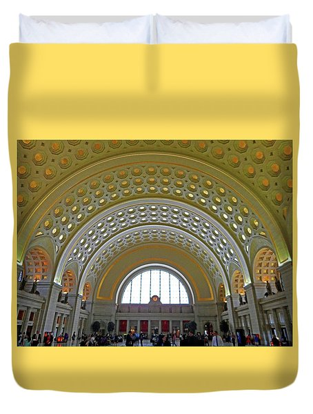 Union Station 12 Duvet Cover
