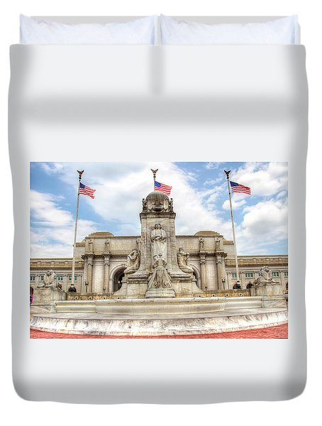 Union Station Duvet Cover