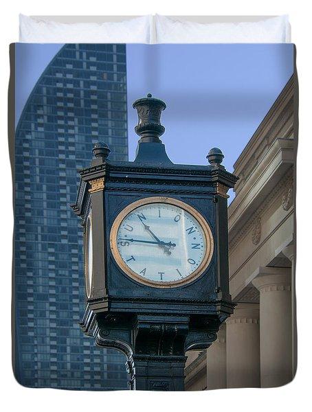 Union Station - Toronto Duvet Cover