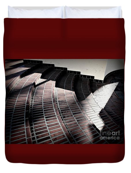 Union Steps Duvet Cover