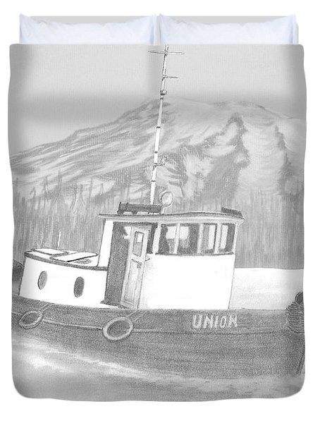 Tugboat Union Duvet Cover