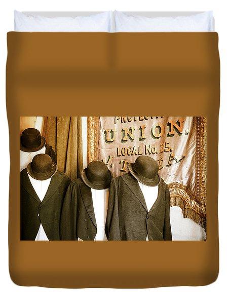 Union Vintage Clothing Duvet Cover