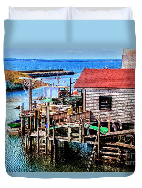 Unique Cove Duvet Cover