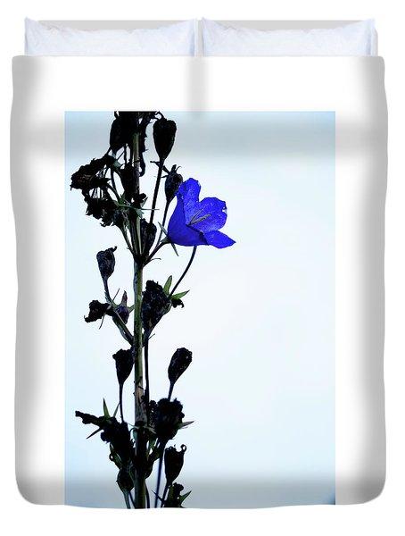Unique Flower Duvet Cover by Teemu Tretjakov
