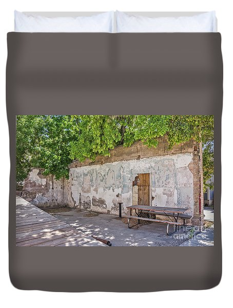 Unique Picnic Area Duvet Cover by Sue Smith