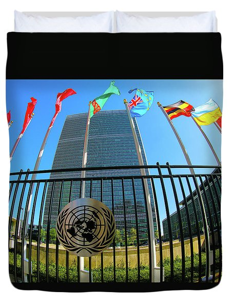 United Nations Secretariat Building  Duvet Cover