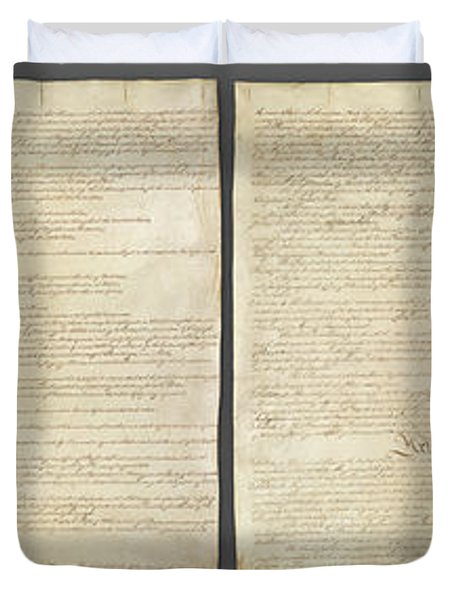 United States Constitution, Usa Duvet Cover