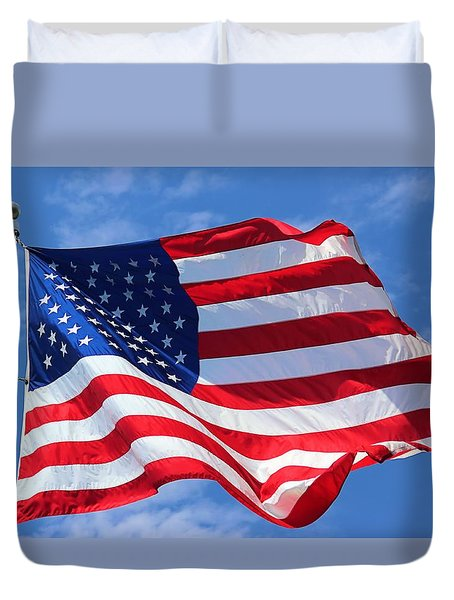 United States Flag Duvet Cover