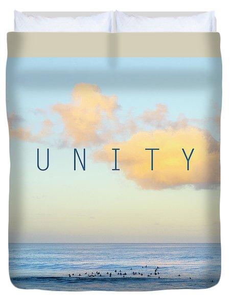 Unity. Duvet Cover