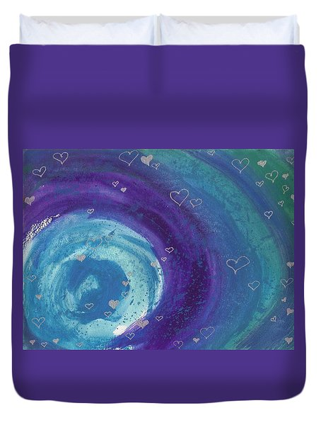 Universal Love Duvet Cover