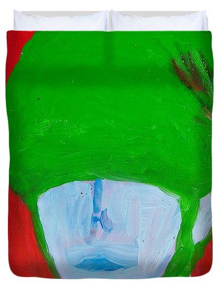 Universal Solider Duvet Cover by Judith Redman