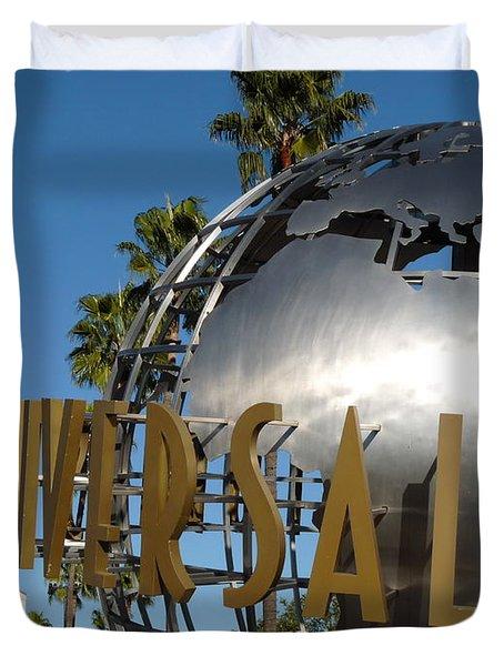 Universal Studios Globe Duvet Cover