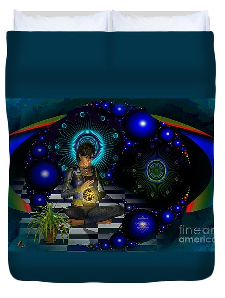 Universe Duvet Cover by Shadowlea Is