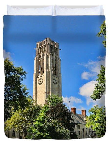 University Hall University Of Toledo  6196 Duvet Cover