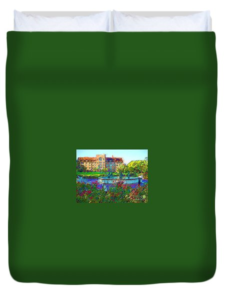 University Of Florida Duvet Cover
